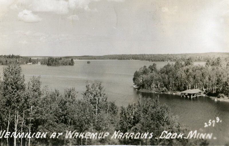 old photo of lake vermillion.